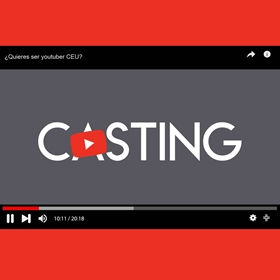 Casting. We are looking for Youtubers CEU