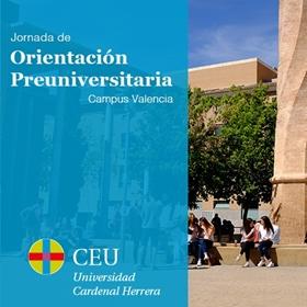 I Jornada de Orientación Preuniversitaria Campus Valencia 2020