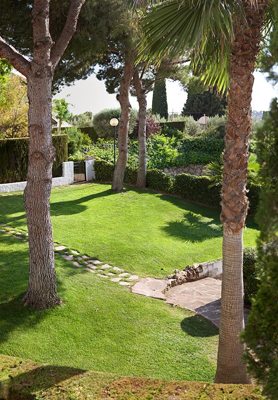 Jardín zona común