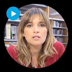 La coordinadora del Grado en Derecho, Beatriz Hermida, aborda las iniciativas que desde el ámbito jurídico están impulsando la lucha contra la violencia hacia las mujeres