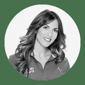 La alumni de Periodismo María Victoria Albertos ha luchado duro para cumplir su sueño profesional.  Y lo ha conseguido.