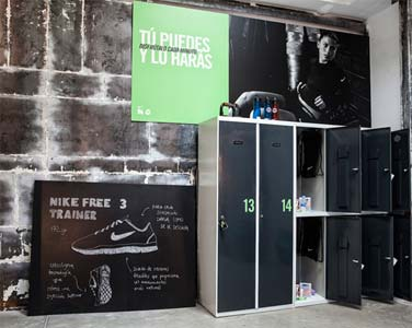 NIKE - Installation Training Club Madrid Hub